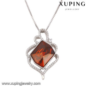 43089 Fashion Elegant Crystals From Swarovski Rhodium Imitation Jewelry Pendant Necklace pictures & photos