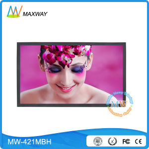 42 Inch TFT LCD Display with High Brightness Sunlight Readable (MW-421MBH) pictures & photos