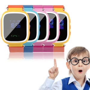 Gelbert Sos Call GSM Locator GPS Tracker Kids Smart Watch pictures & photos