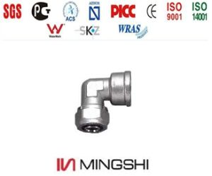 Compression Fittings in Brass for Multilayer Pipes - Female Elbow pictures & photos