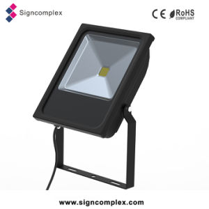China Slim Outdoor IP65 LED Flood Light 50W with CE RoHS pictures & photos