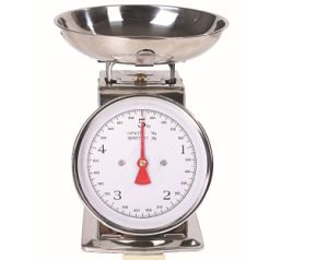 5kg/20g Large Dial Mechanical Kitchen Weighing Scale pictures & photos