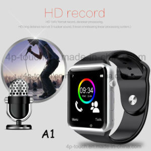 2017 Cheapest Fitness Smart Watch Phone with Mtk6261 Chip and Camera A1 pictures & photos