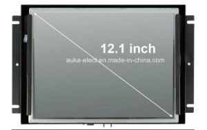 "12.1"" Embedded LCD Monitor with Metal Frame for Industrial Display pictures & photos"