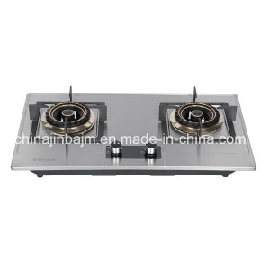 2 Burners Stainless Steel Cooktop/ Built-in Hob/Gas Hob pictures & photos
