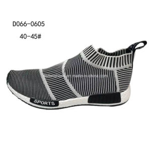 Latest Good Quality Men′s MID-Cut Flyknit Sports Shoes Sneaker pictures & photos
