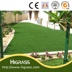 Natural Look 30mm Bicolor Fake Landscaping Grass pictures & photos