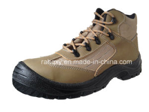 New Style Crazy Horse Leather Safety Shoes (HQ03053) pictures & photos