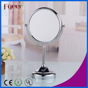 Fyeer Double Side Turnover Round Makeup Table Mirror (M5128) pictures & photos