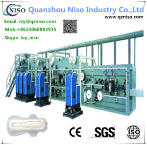 High Speed Semi-Automatic Sanitary Napkin Machine Manufacture (HY400) pictures & photos