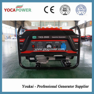3kw Air Cooled Portable Gasoline Generator pictures & photos