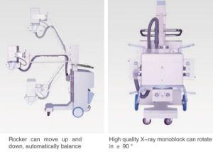 Hx101A Only for Radiography High Frequency Mobile X Ray pictures & photos
