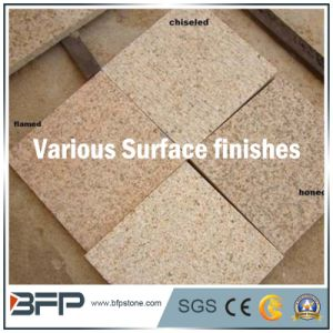 Natural Stone Yellow Granite Floor Tile for Chinese Polished Finish pictures & photos