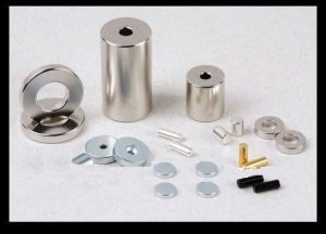 N48 Neodymium Cylinder Magnets with Nickel Plating pictures & photos