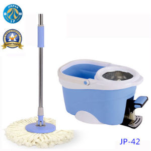 Microfiber 360 Spin Dry Mop Bucket with Pedal