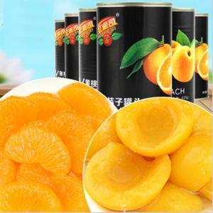 Good Taste 425g Canned Yellow Peach, Canned Orange, Canned Strawberry