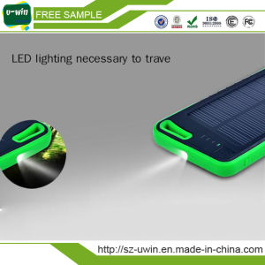 Promotional Gift Waterproof Solar Mobile Phone Charger pictures & photos