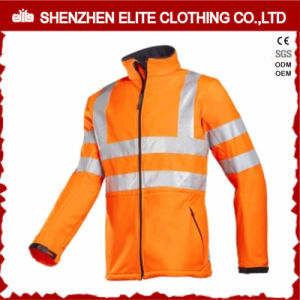 Men Work High Visibility Softshell Workwear Jacket pictures & photos