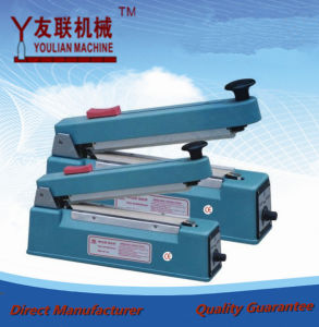 Pfs-200 (iron shell) Impulse Sealer, Heat Plastic Bag Sealer with Date, Impulse Sealing Machine, Suitable for Heat Shrink Packingyoulian Machine pictures & photos