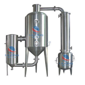 Stainless Steel Single-Effect Circulation Evaporating Equipment for Herbal pictures & photos