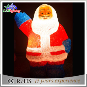 Holiday Motif LED Acrylic Santa Claus Christmas Decorations Light pictures & photos