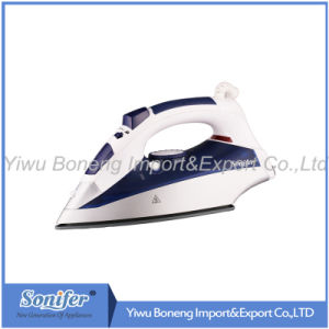 Electric Iron Si106-778 Travelling Steam Iron with Ceramic Soleplate (Blue)