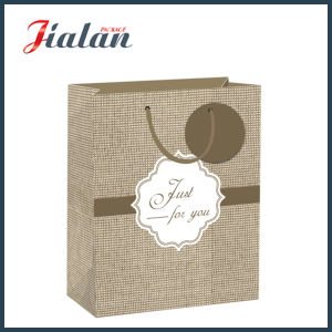New Woven Design Coated Paper Daily Shopping Gift Paper Bag pictures & photos