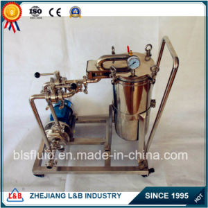 SL Series Stainless Steel Customized Movable Bag Filter pictures & photos