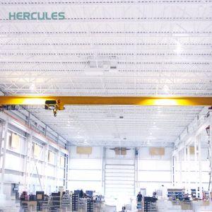 a Lifting Equipment Single Girder Overhead Bridge Crane pictures & photos