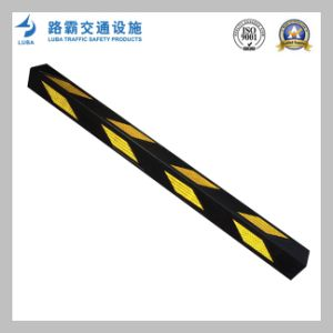 1200mm High Reflective Parking Wall Rubber Corner Guard pictures & photos