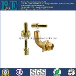Custom Brass CNC Machining Nozzle Fittings pictures & photos