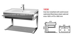 Steel Shelf for Wash Basin (NO. 1038) , Basin Holder pictures & photos