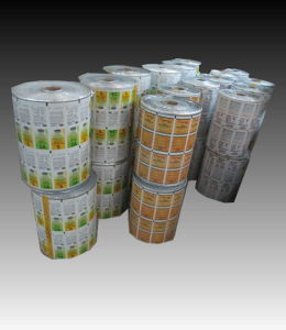 Pesticide Aluminum Foil Pouch Film Roll Film with Printing pictures & photos