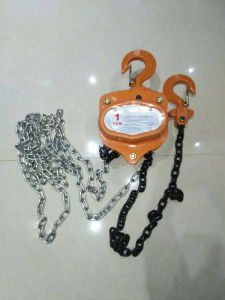 619 Type Manual Chain Hoist 2t Chain Pulley Block pictures & photos
