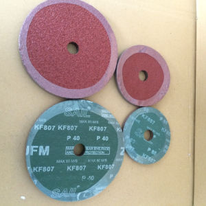 Aluminum Oxide 0.8mm Fiber Discs for Metal Polishing pictures & photos