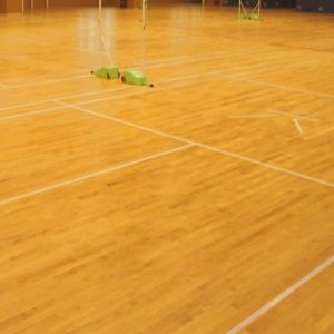Best Price Badminton Court Maple Wooden Flooring