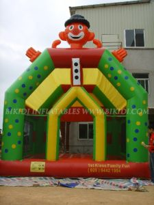 Inflatables Bouncy Castles for Commercial Use, Clow Bouncers, Bouncy Castle (B1021) pictures & photos