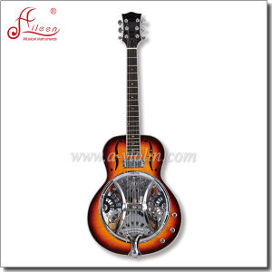 [Winzz] Linden Plywood Body Electric Resonator Dobro Guitar pictures & photos
