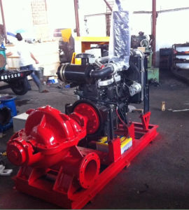 Fire Fighting End Suction Diesel Engine Water Pump pictures & photos