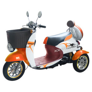500W Disabled 3 Wheel Electric Mobility Scooter with Lead-Acid Battery pictures & photos