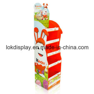 Pre-Assembly Cardboard Point of Sales Display for Chocolates, Shelf Display Stands pictures & photos