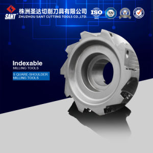 CNC Lathe Indexable Milling Cutter with Spare Parts, Face Milling Tool and Coating pictures & photos