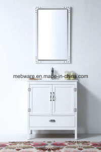 30′′ Modern Solid Wood Bathroom Furniture Wh-5730-W pictures & photos