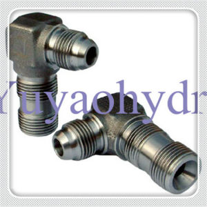 Hydraulic Fittings Metric Thread 60 Deg Flare Cone pictures & photos