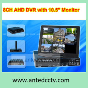 8 Channel LCD DVR Combo with 10.5 Inch Monitor Screen, All-in-One CCTV DVR Recorder for CCTV Security pictures & photos
