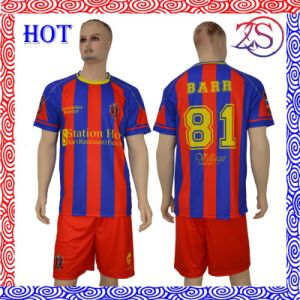 Ozeason Durable Dye-Sublimation Printing Wholesale Soccer Shirt pictures & photos