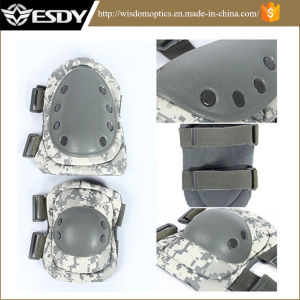 Cheaper China Tactical Military Outdoor Sport Knee & Elbow Protective Pads Rubber pictures & photos