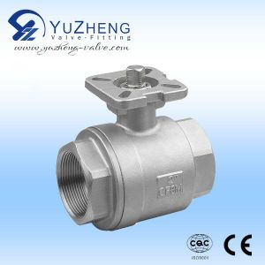 2 PC Light Type Thread Ball Valve pictures & photos