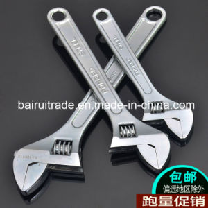 10 FT Forged Plated Adjustable Wrench for China pictures & photos