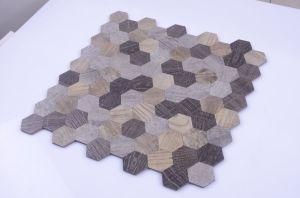2017 New! Hexagon Self-Adhesive Mosaic pictures & photos